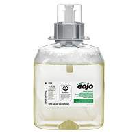 Gojo FMX Green Certified Foam Hand Soap Refills, Fragrance-Free, 1,250 mL