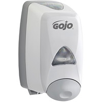 Gojo FMX Push-Style Foam Hand Soap Dispenser, Grey, 1,250 mL Capacity