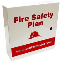 Safety Media Fire Safety Plan Box