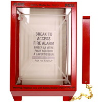 Safety Media Fire Alarm Pull-Station Cover