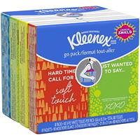 Paquets de mouchoirs format tout-aller Kleenex