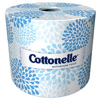 Cottonelle 2-Ply White Bathroom Tissue Rolls