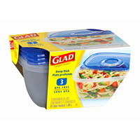Glad Food Storage Containers and Lids