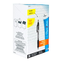 Papermate Ballpoint Pens, 36/Box