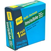 Seal-It Invisible Tape Refill, Matte Finish, 3/4