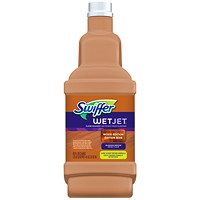 Swiffer WetJet Cleaner Solution Refills, Wood Edition, Blossom Breeze Scent, 1.25 L