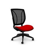 Chaise à dossier posture en tissu maillé Roma Global