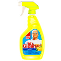 Mr. Clean Lemon Scented Multi-Surface Antibacterial Cleaning Spray, 946 mL