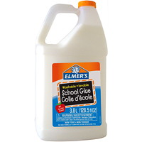 Elmer's Washable School Glue, White, 3.8 L