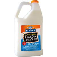Colle d'écolier lavable Elmer's, blanc, 3,8l