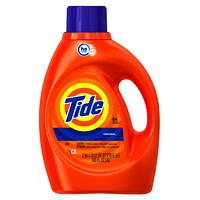 Tide High Efficiency (HE) Turbo Clean Liquid Laundry Detergent, 2.95 L (64 Loads)