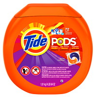 Tide PODS Laundry Detergent - 72 Count/Loads