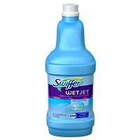Swiffer WetJet Cleaner Solution Refills, Multi-Purpose, Open-Window Scent, 1.25 L