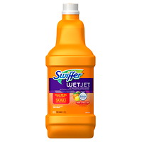 Swiffer WetJet Cleaner Solution Refills, Multi-Surface, Sweet Citrus and Zest Scent, 1.25 L