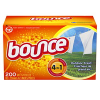 Bounce Fabric Softener Dryer Sheets