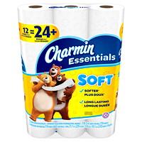 Papier hygiénique blanc à 2 épaisseurs Essentials Soft Charmin
