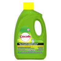 Cascade Gel Dishwasher Detergent, Lemon Scented, 3.51 L