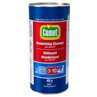 Nettoyant désodorisant en poudre avec Chlorinol Comet, 400g