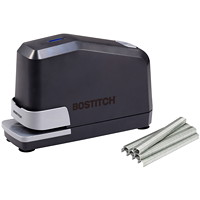 Bostitch Impulse 45 Full Strip Electric Stapler, Black, 45 Sheet Capacity