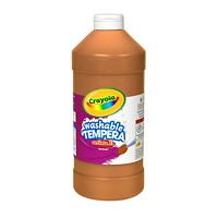 Peinture tempéra lavable Artista II Crayola, brun, 32 oz