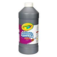 Peinture tempéra lavable Artista II Crayola, noir, 32 oz