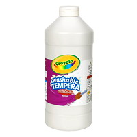 Peinture tempéra lavable Artista II Crayola, blanc, 32 oz