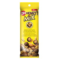 Hershey's Sweet and Salty Snack Mix Tubes, OH Henry!, 56 g/PK, 10 Packages/BX