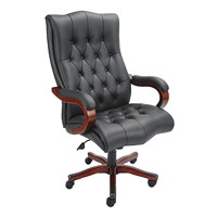 True Bellbrook Big and Tall Executive Leather Chair