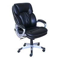 True Big and Tall Executive Leather Chair