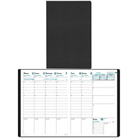 Quo Vadis Trinote Toscana Weekly Planner, 7 1/4