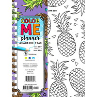 TF Publishing Color Me Academic Weekly/Monthly Planner