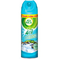 Air Wick Mega-Size 4-in-1 Aerosol Air Freshener, Fresh Waters Scent, 510 g