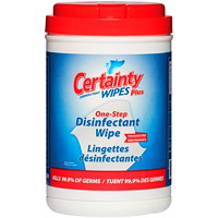 Certainty Plus Fragrance-Free Disinfectant Wipes, 200 wipes/PK