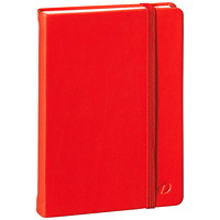 Quo Vadis Habana Hardcover Lined Notebook, Red, A5 (6 1/4