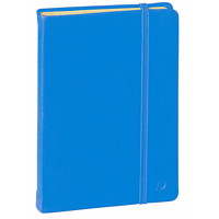 Quo Vadis Habana Hardcover Lined Notebook, Blue, A6 (4