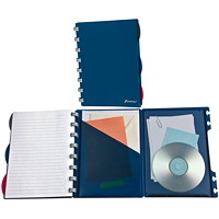 Ampad Versa Crossover Wide-Ruled Notebook