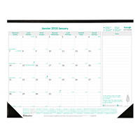 EcoLogix 100% Recycled Monthly Desk Pad Calendar