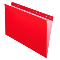 Grand & Toy Hanging Folders, Red, Legal-Size, 25/BX