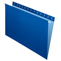 Grand & Toy Hanging Folders, Navy, Legal-Size, 25/BX