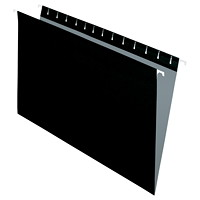 Grand & Toy Hanging Folders, Black, Legal-Size, 25/BX