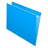 Grand & Toy Hanging Folders, Blue, Letter-Size, 25/BX