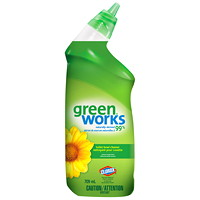 Clorox Green Works Toilet Bowl Cleaner, 709 mL
