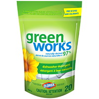 Clorox Green Works Dishwasher Detergent Pacs