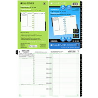 Day-Timer Desk-Size Loose-Leaf Planner Refill