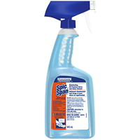 Spic and Span Disinfecting All-Purpose Spray and Glass Cleaner, 945 mL RTU Spray Bottle