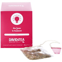 DAVIDsTEA Sachets Boxed The Buzz Maté Tea, 12/Box