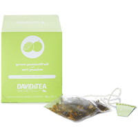 DAVIDsTEA Sachets Boxed Green Passionfruit Green Tea, 12/Box