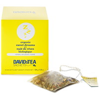 DAVIDsTEA Sachets Boxed Dream On Herbal Tea, 12/Box