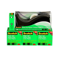 Scotch Magic Tape Refills with Bonus Dispenser
