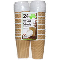 Café Express Double Wall Insulated Hot Cups With Lids